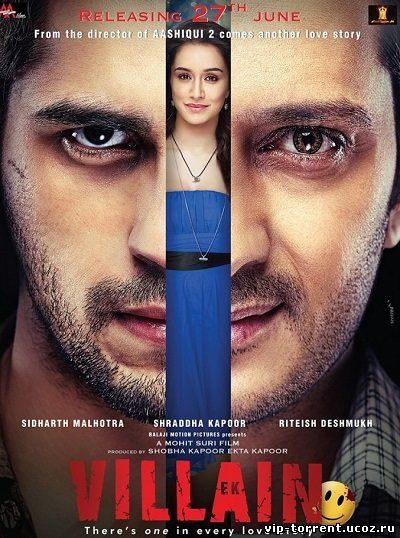 Злодей / Ek Villain (2014) HDRip