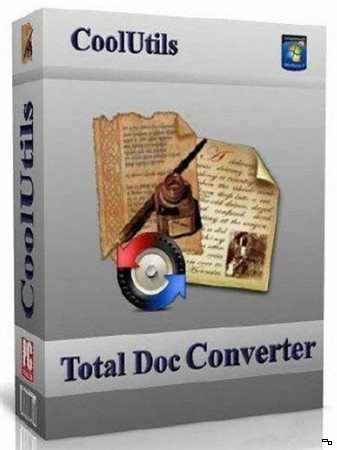 Coolutils Total Doc Converter 5.1.174 (2018) PC RePack & Portable