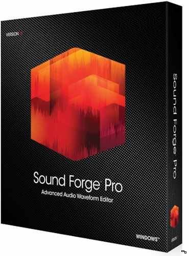 MAGIX Sound Forge Pro 12.0 Build 29 (2018) PC RePack by KpoJIuK