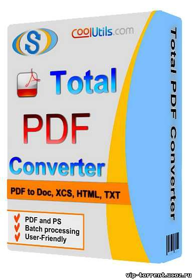 Coolutils Total PDF Converter 5.1.24 Final (2014) PC