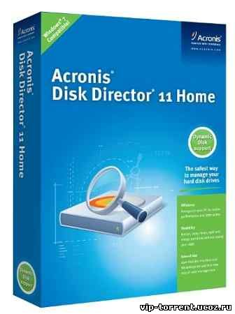 Acronis Disk Director 11 Home 11.0.2121 Final (2010) PC